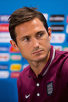 Frank Lampard of England during a press conference