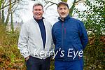 Enjoying a stroll in Killarney National park on Sunday, l to r: Tony Lenihan and Tomas Kelliher.