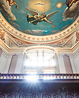 July 26, 2021; Main Building rotunda detail (Photo by Matt Cashore/University of Notre Dame)