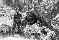 - August 1988, police raid on the Aspromonte mountain in search of young Cesare Casella, kidnapped in Pavia for blackmail by the organized crime Ndrangheta in January 1988 and freed two years after, in January of the '90<br /> <br /> - agosto 1988, battuta dei Carabinieri sull'Aspromonte in cerca di Cesare Casella, giovane rapito a Pavia a scopo di estorsione dalla criminalità organizzata Ndrangheta nel gennaio 1988 e liberato due anni dopo, nel gennaio del '90