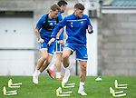 St Johnstone Training…27.09.19<br />Ross Callachan and Jason Kerr pictured during training this morning at McDiarmid Park ahead of tomorrow's game against Motherwell.<br />Picture by Graeme Hart.<br />Copyright Perthshire Picture Agency<br />Tel: 01738 623350  Mobile: 07990 594431