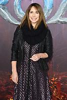 """Alex Jones<br /> arriving for the """"Frozen 2"""" premiere at the BFI South Bank, London.<br /> <br /> ©Ash Knotek  D3537 17/11/2019"""