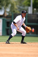 March 21st 2008:  Brandon Inge of the Detroit Tigers during Spring Training at Joker Marchant Stadium in Lakeland, FL.  Photo by:  Mike Janes/Four Seam Images