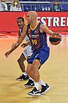 League ACB-ENDESA 2020/2021 - Game: 1.<br /> Barça vs Hereda San Pablo Burgos: 89-86.<br /> Alex Renfroe vs Nik Calathes.