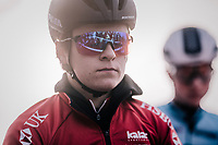 Tom Pidcock (GBR/U23/Telenet Fidea Lions) focussed at the start<br /> <br /> U23 Men's Race<br /> UCI CX Worlds 2018<br /> Valkenburg - The Netherlands