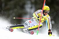 21st December 2020; Alta Badia Ski Resort, Dolomites, Italy; International Ski Federation World Cup Slalom Skiing; Sebastian Holzmann (GER)