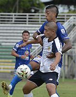 PALMIRA - COLOMBIA, 16-08-2021: Orsomarso S.C. y Barranquilla F.C. en partido por la fecha 4 del Torneo BetPlay DIMAYOR II 2021 jugado en el estadio Francisco Rivera Escobar en la ciudad de Palmira. / Orsomarso S.C. and Barranquilla F.C. in match for the for the date 4 as part of BetPlay DIMAYOR Tournament II 2021 played at Francisco Rivera Escobar stadium in Palmita city. Photo: VizzorImage / Gabriel Aponte / Staff