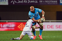 Caleb TIMU  of Montpellier  during the Top 14 match between Montpellier and Stade Francais at Altrad Stadium on December 28, 2019 in Montpellier, France. (Photo by Alexandre Dimou/Icon Sport) - Caleb TIMU - Altrad Stadium - Montpellier (France)