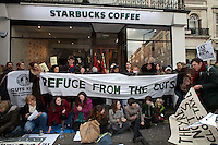 "08.12.2012 - UK Uncut presents: ""Refuge From The Cuts"""