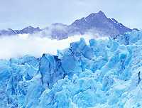 Blue ice of Shoup Glacier, Alaska