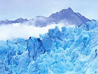 Blue ice of Shoup Glacier, Alaska