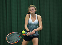 Rotterdam, The Netherlands, March 11, 2016,  TV Victoria, , NOJK 12/16 years, Emma Goedkoop<br /> Photo: Tennisimages/Henk Koster
