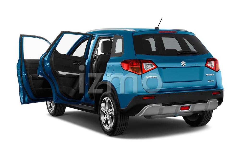 Car images close up view of a 2015 Suzuki Vitara Lux Extra 5 Door SUV doors