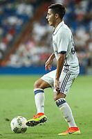 Real Madrid's Tejero during the XXXVII Bernabeu trophy between Real Madrid and Stade de Reims at the Santiago Bernabeu Stadium. August 15, 2016. (ALTERPHOTOS/Rodrigo Jimenez) /NORTEPHOTO