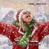 Marcello, CHRISTMAS CHILDREN, WEIHNACHTEN KINDER, NAVIDAD NIÑOS, paintings+++++,ITMCXM1137C,#xk# ,playing in snow
