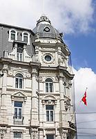 Nederland - Amsterdam - 2020. Het Victoria Hotel aan het Damrak. Foto Berlinda van Dam / Hollandse Hoogte