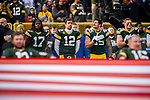 Green Bay Packers against the Washington Redskins during a regular season game at Lambeau Field in Green Bay on Sunday, December 8, 2019.
