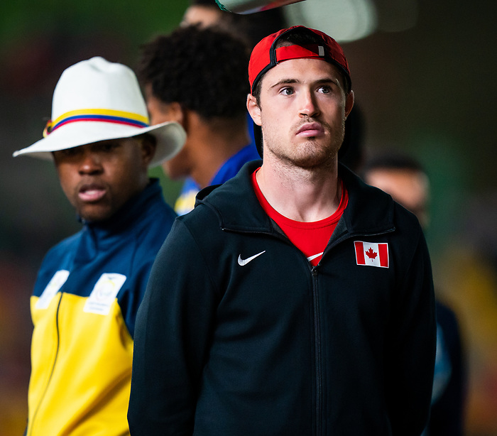 Gaerrisen Freeland, Lima 2019 - Para Athletics // Para-athlétisme.<br /> Gaerrisen Freeland competes in the men's long jump T20 // Gaerrisen Freeland participe au saut en longueur T20 masculin. 25/08/2019.