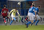 Dave Mackay Testimonial: St Johnstone v Dundee…06.10.17…  McDiarmid Park… <br />Murray Davidson in goal for saints!!!<br />Picture by Graeme Hart. <br />Copyright Perthshire Picture Agency<br />Tel: 01738 623350  Mobile: 07990 594431