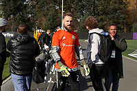 TUKWILA, WA - NOVEMBER 08: Stefan Frei #24 of the Seattle Sounders FC at Starfire Sports Complex on November 08, 2019 in Tukwila, Washington.