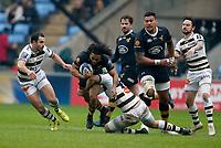 Photo: Richard Lane/Richard Lane Photography. Wasps v Stade Rochelais.  European Rugby Champions Cup. 17/12/2017. Wasps' Kyle Eastmond attacks.