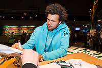 ABN AMRO World Tennis Tournament, Rotterdam, The Netherlands, 13 februari, 2017, Jo-Wilfried Tsonga (FRA)<br /> Photo: Henk Koster