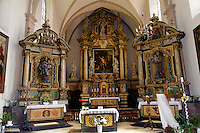 Jn der  Kirche St. Jean Baptiste (Johannes) in Grund, Stadt Luxemburg, Luxemburg