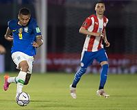 8th June 2021; Defensores del Chaco Stadium, Asuncion, Paraguay; World Cup football 2022 qualifiers; Paraguay versus Brazil;   Gabriel Jesus of Brazil