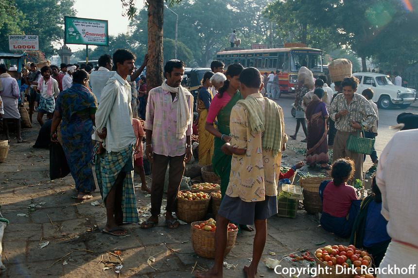 Indien, Mysore (Karnataka), Markt