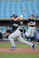 Catcher JJ Schwarz (22) playing for the Colorado Rockies scout team during the East Coast Pro Showcase on August 1, 2013 at NBT Bank Stadium in Syracuse, New York.  (Mike Janes/Four Seam Images)