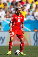 Valon Behrami of Switzerland