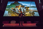 Art Wolfe presents at MUNDOlogia festival in Freiburg, Germany, February 4, 2017