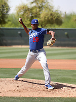 Guillermo Zuniga - Los Angeles Dodgers 2018 extended spring training (Bill Mitchell)