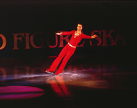 David Santee of the United States competes at the 1981 World Figure Skating Championships in Hartford, USA. Photo copyriight Scott Grant.