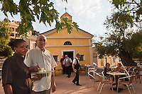 Europe/France/Corse/2B/Haute-Corse/Cap Corse/Ogliastro/ Marine d'Albo: Bar-Restaurant Morganti - Jean-Toussaint Morganti et sa chef Sévérine Joly [Non destiné à un usage publicitaire - Not intended for an advertising use]