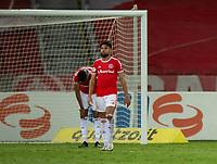 10th February 2021; Beira-Rio Stadium, Porto Alegre, Brazil; Brazilian Serie A, Internacional versus Sport Recife; Yuri Alberto of Internacional frustrated at the loss after the match