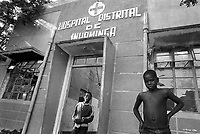 - Mozambique 1993, country hospital in Inhaminga village, province of Sofala<br /> <br /> - Mozambico 1993, ospedale rurale nel villaggio di Inhaminga, provincia di Sofala