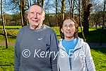 Enjoying a stroll in Listowel town park on Sunday, l to r: Martin and Noreen Murphy.