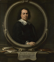 Full title: Self Portrait<br /> Artist: Bartolomé Esteban Murillo<br /> Date made: probably 1670-3<br /> Source: http://www.nationalgalleryimages.co.uk/<br /> Contact: picture.library@nationalgallery.co.uk<br /> <br /> Copyright © The National Gallery, London