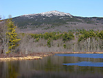Mt. Monadnock in Early Spring, New Hampshire, USA