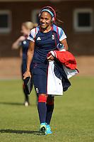 Alex Scott - Team GB Women training at Cardiff University, Cardiff, Wales - 27/07/12 - MANDATORY CREDIT: Gavin Ellis/SHEKICKS/TGSPHOTO - Self billing applies where appropriate - 0845 094 6026 - contact@tgsphoto.co.uk - NO UNPAID USE.