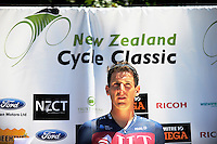 Racewinner Alex Frame after stage three of the NZ Cycle Classic UCI Oceania Tour in Wairarapa, New Zealand on Tuesday, 24 January 2017. Photo: Dave Lintott / lintottphoto.co.nz
