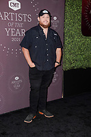 Luke Combs attends the 2021 CMT Artist of the Year on October 13, 2021 in Nashville, Tennessee. Photo: Ed Rode/imageSPACE/MediaPunch