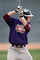 January 17, 2010:  Taylor Nichols (Mobile, AL) of the Baseball Factory South Team during the 2010 Under Armour Pre-Season All-America Tournament at Kino Sports Complex in Tucson, AZ.  Photo By Mike Janes/Four Seam Images