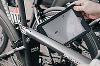 Contrôle Anti-moteur-dopage by the UCI<br /> <br /> 104th Tour de France 2017<br /> Stage 7 - Troyes › Nuits-Saint-Georges (214km)