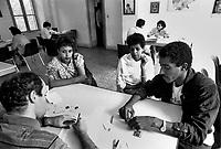 - legal advising office for immigrants at S.Egidio community in Rome (september 1979)<br /> <br /> - ufficio di consulenza legale per immigrati presso la comunità  di S.Egidio a Roma (settembre 1979)