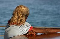Dawn Koondumbin, the Wik custodian of the Archer River, Gulf Of Carpentaria