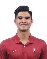 Stanford Tennis M Portraits, September 20, 2019