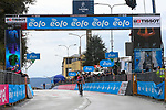 Dutch Champion Mathieu Van Der Poel (NED) Alpecin Fenix wins solo Stage 5 of Tirreno-Adriatico Eolo 2021, running 205km from Castellalto to Castelfidardo, Italy. 14th March 2021. <br /> Photo: LaPresse/Marco Alpozzi   Cyclefile<br /> <br /> All photos usage must carry mandatory copyright credit (© Cyclefile   LaPresse/Marco Alpozzi)