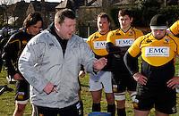 Photo:Richard Lane/Richard Lane Photography. London Wasps training. 15/02/2012. Director of Rugby, Dai Young.